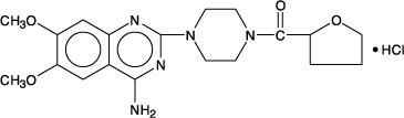 Terazosin Hydrochloride Chemical Structure