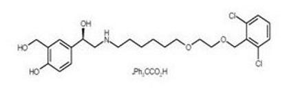 Vilanterol chemical structure