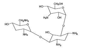Tobramycin structural formula