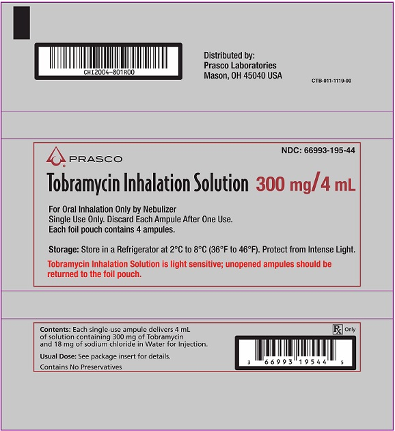 Tobramycin Inhalation Solution foil pouch