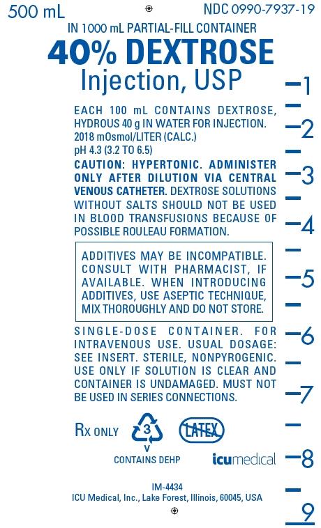 PRINCIPAL DISPLAY PANEL - 40 g/100 mL Bag Label