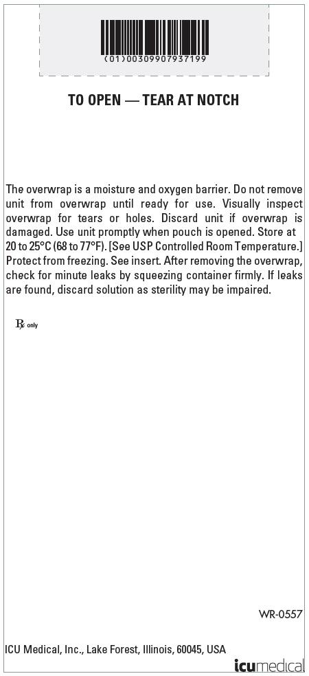 PRINCIPAL DISPLAY PANEL - 40 g/100 mL Bag Overwrap