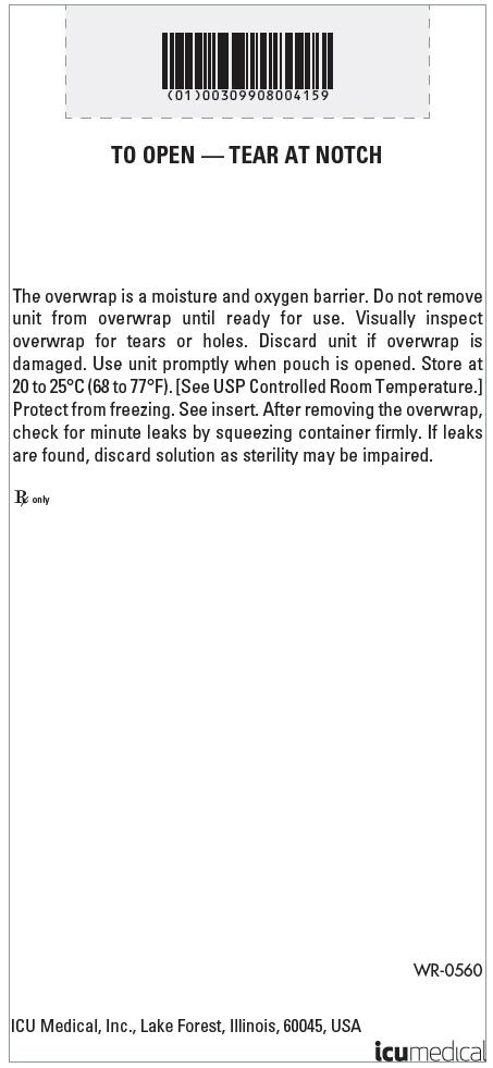 PRINCIPAL DISPLAY PANEL - 30 g/100 mL Bag Overwrap