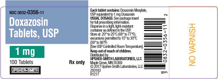 PRINCIPAL DISPLAY PANEL - 1 mg Tablet Bottle Label