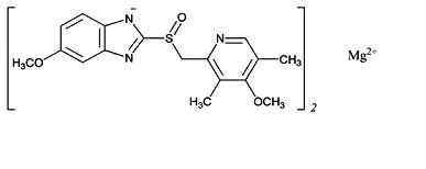 omeprazole magnesium structural formula