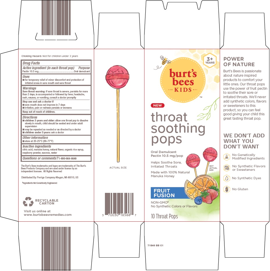 throat soothing pops image