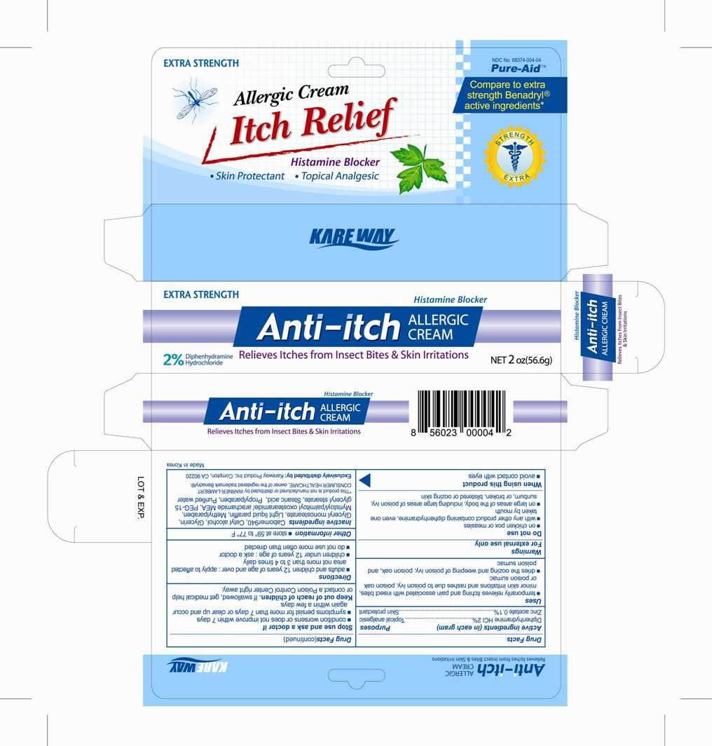 image of a carton label