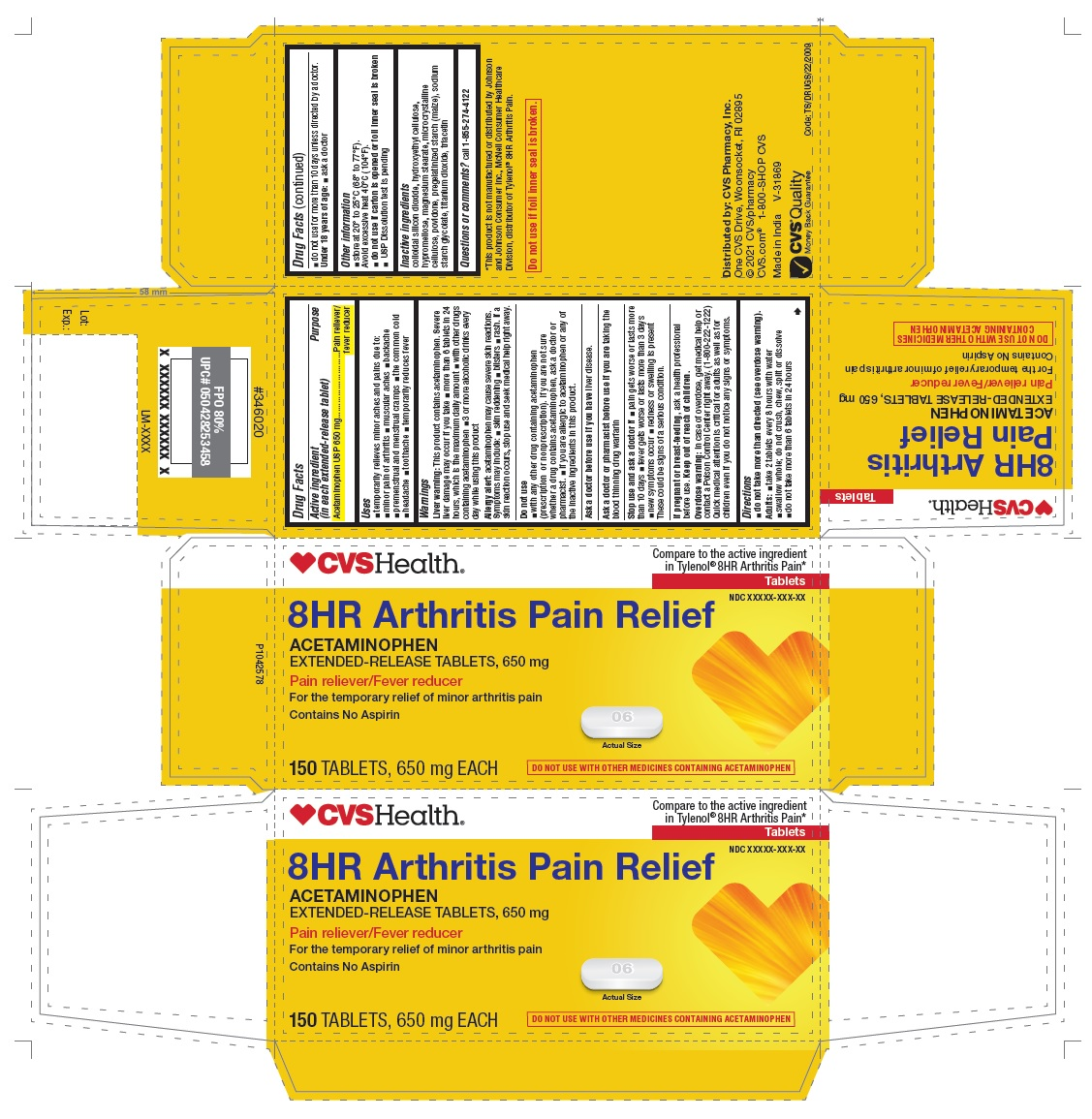 PACKAGE LABEL-PRINCIPAL DISPLAY PANEL - 650 mg (250 Tablets Container Carton)