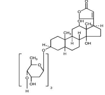 digoxin-molec-struc