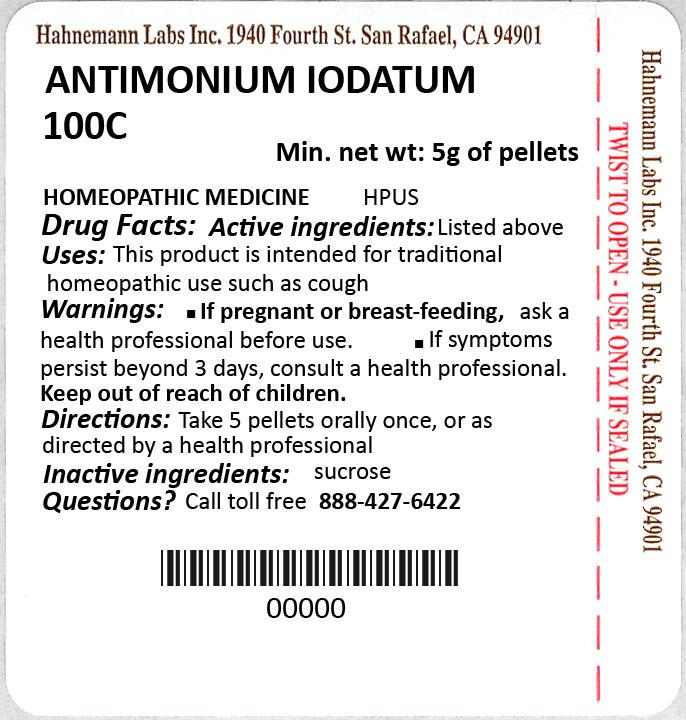 Antimonium Iodatum 100C 5g