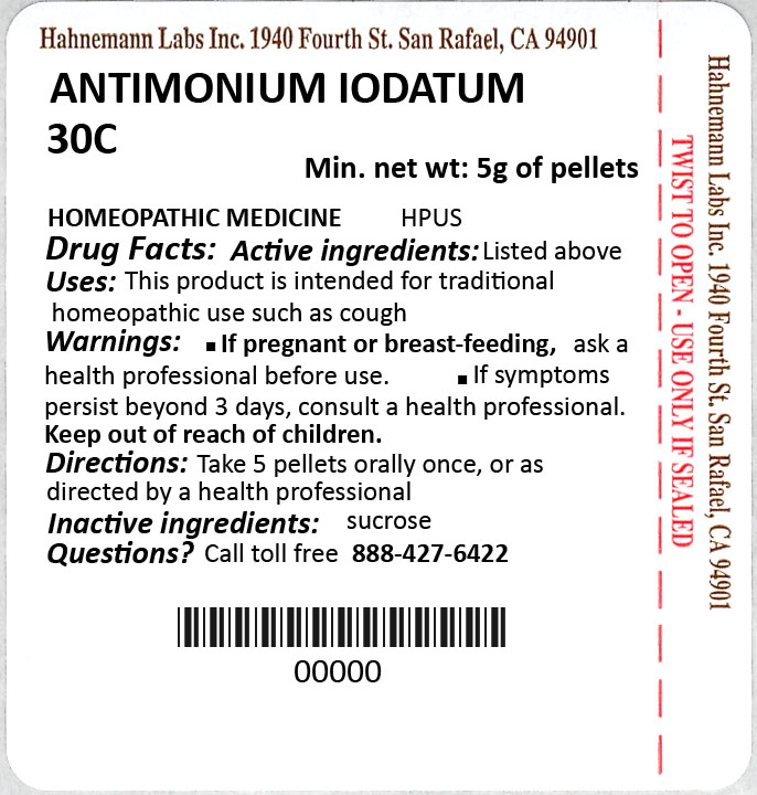 Antimonium Iodatum 30C 5g