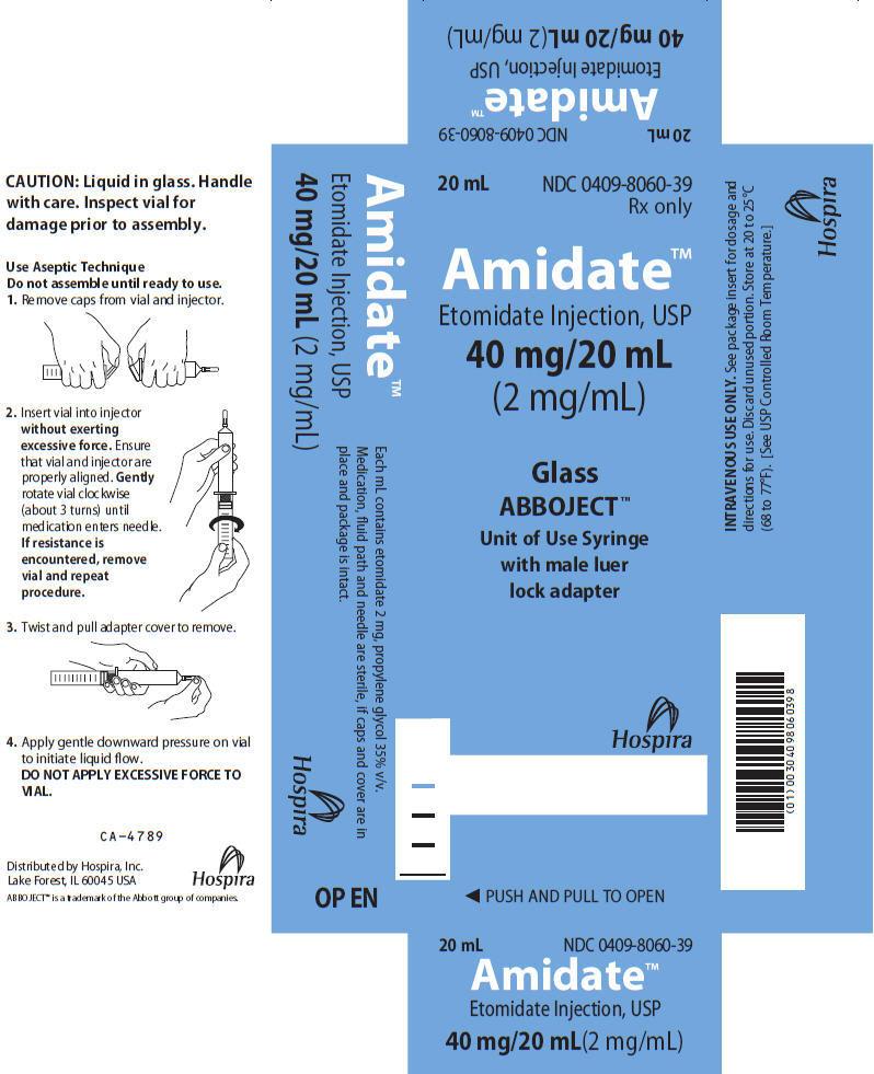 PRINCIPAL DISPLAY PANEL - 20 mL Syringe Carton
