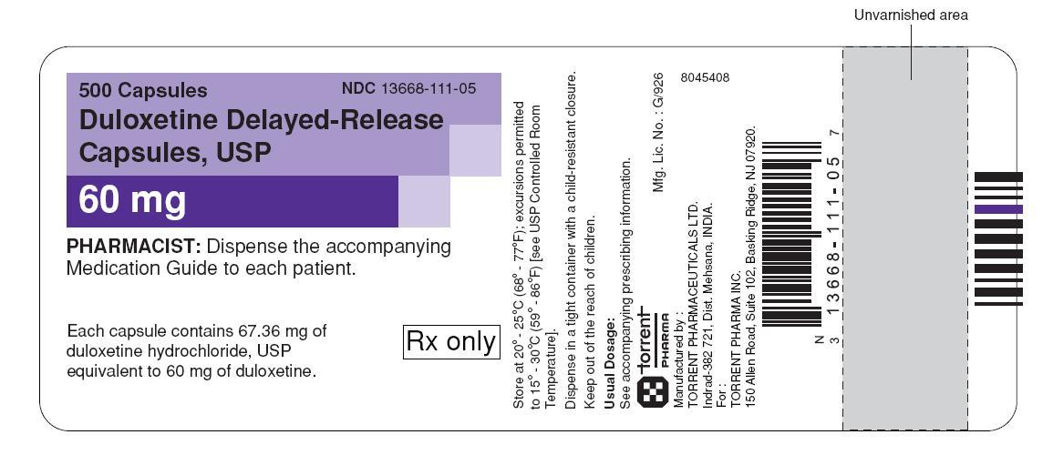 60 mg - label