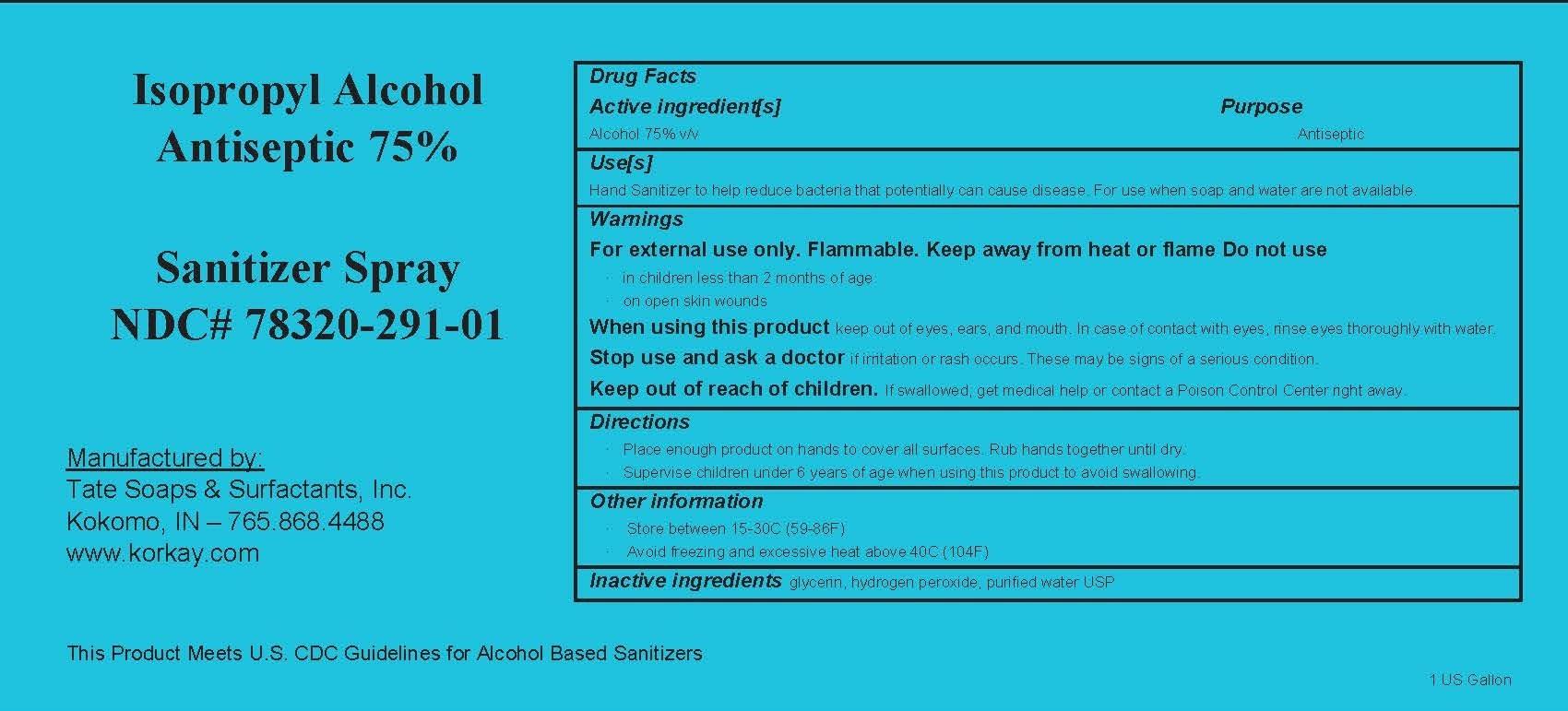 1 gallon label