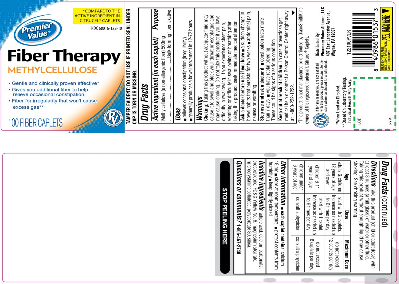 Fiber Therapy Methylcellulose