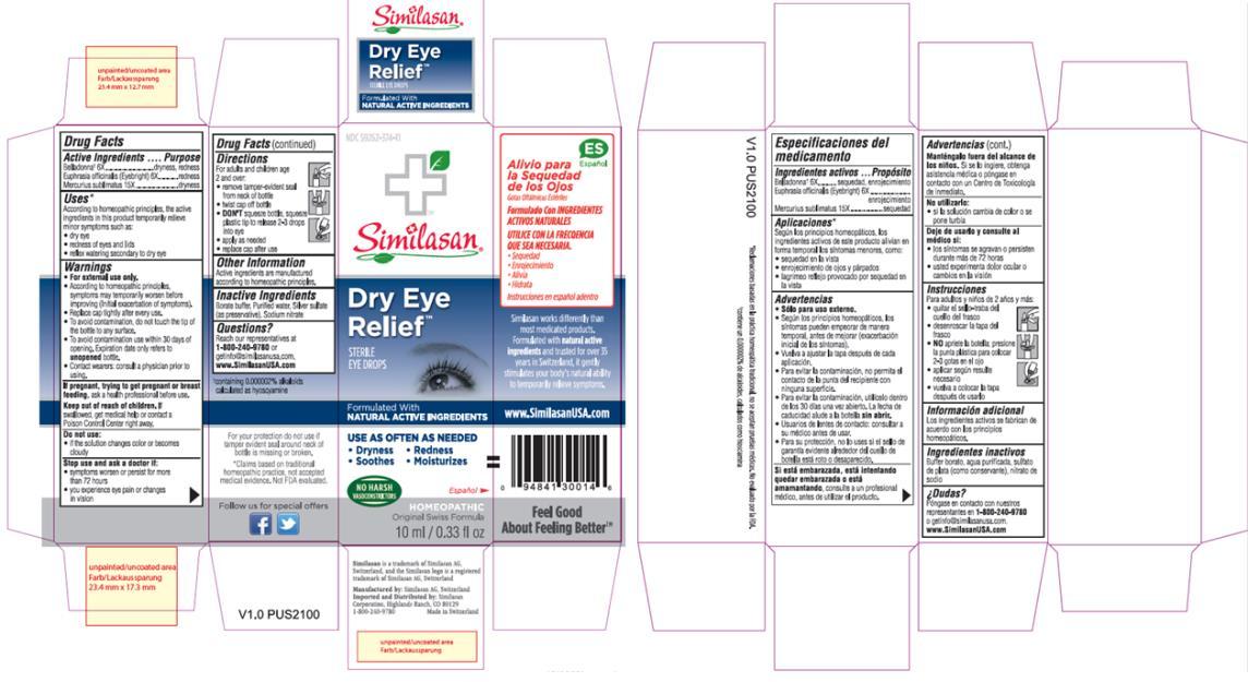 PRINCIPAL DISPLAY PANEL NDC: <a href=/NDC/59262-371-11>59262-371-11</a> Dry Eye Relief STERILE EYE DROPS 10 ml/0.33 fl oz