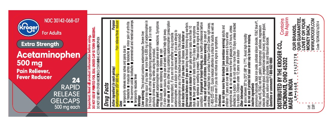 PACKAGE LABEL-PRINCIPAL DISPLAY PANEL 500 mg (24 Gelcaps Container Label)