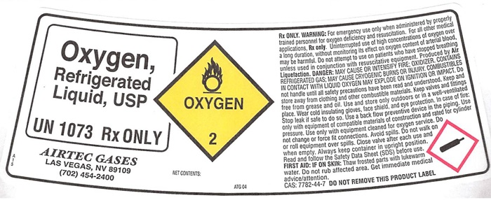 AirTec Refrigerated Oxygen