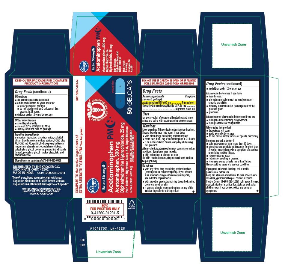 PACKAGE LABEL-PRINCIPAL DISPLAY PANEL 500 mg / 25 mg (50 Caplets Bottle Carton)