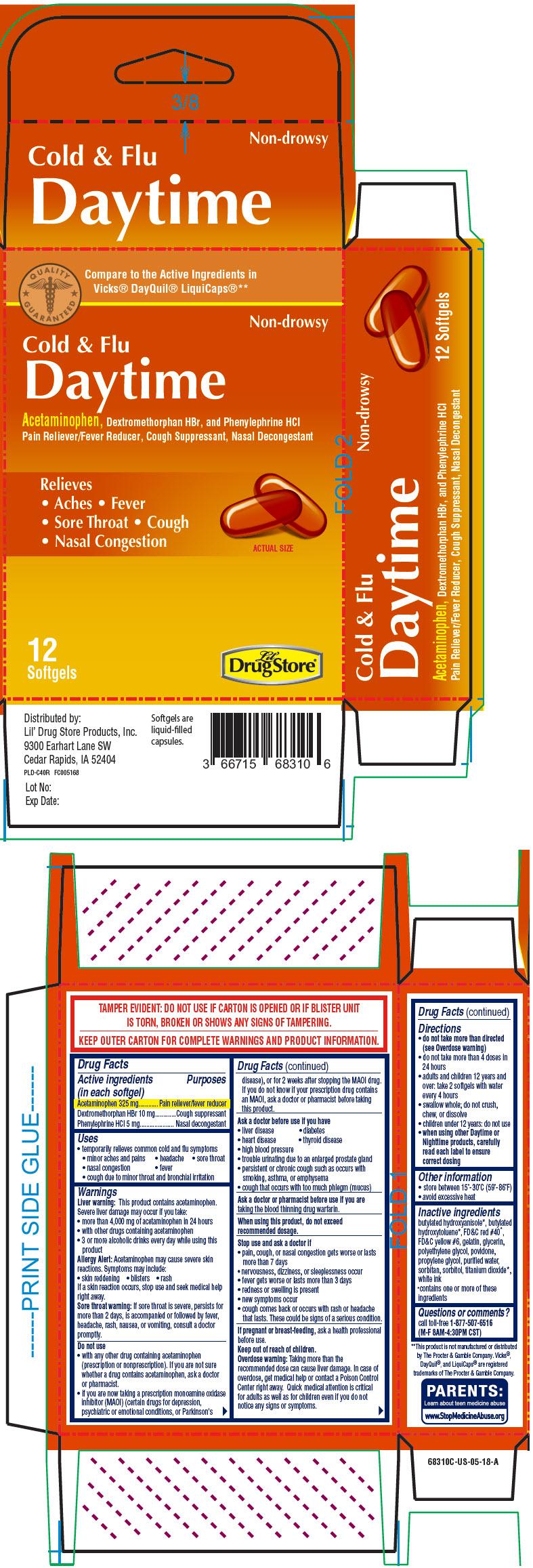 Principal Display Panel - 12 Softgel Blister Pack Carton - NDC: <a href=/NDC/66715-6831>66715-6831</a>