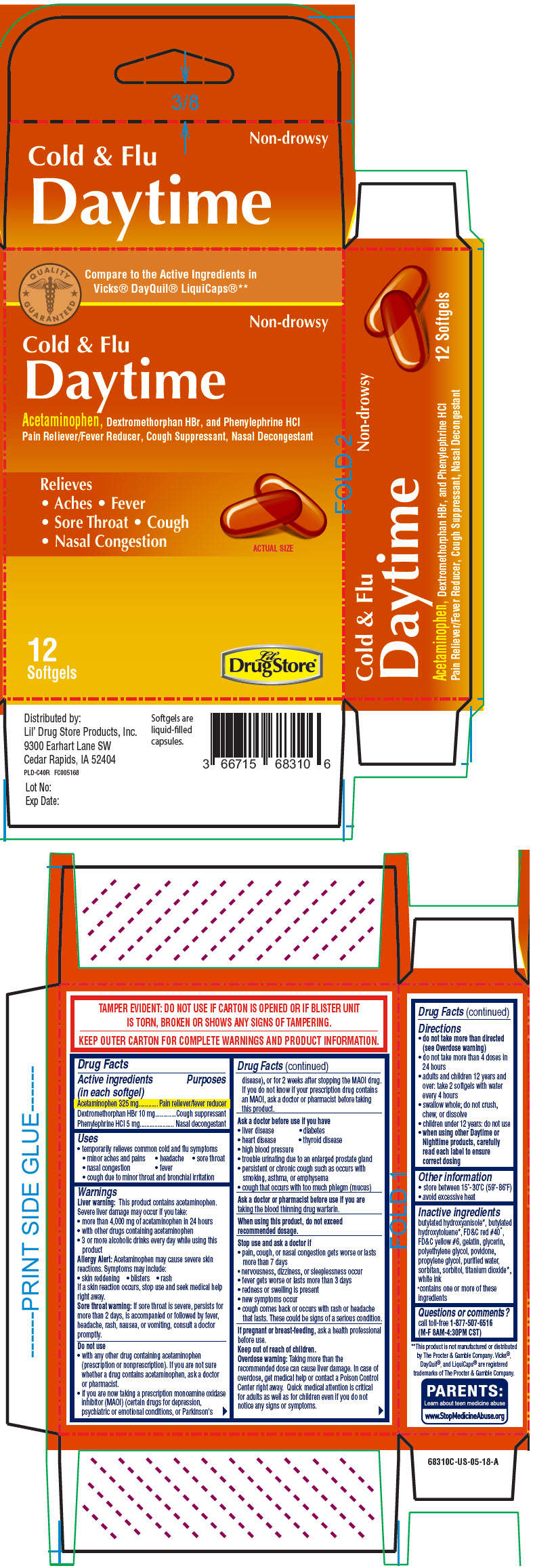 Principal Display Panel - 12 Softgel Blister Pack Carton - NDC: <a href=/NDC/66715-6851>66715-6851</a>