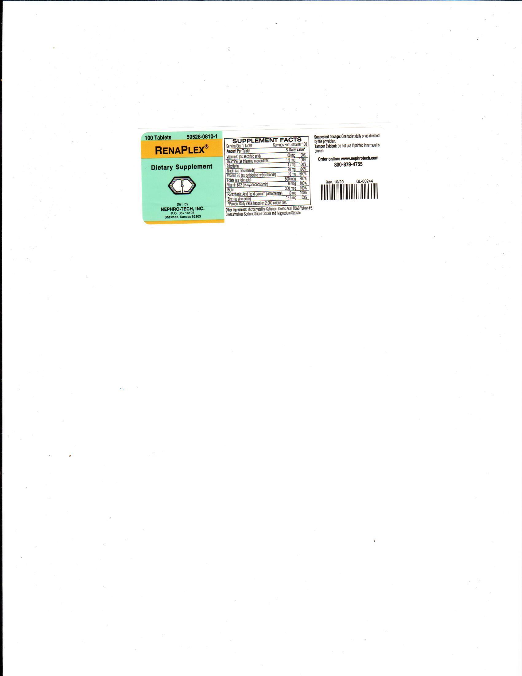 RenaPlex label