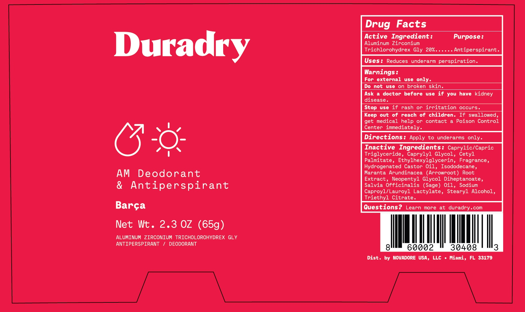 Duradry AM Barca