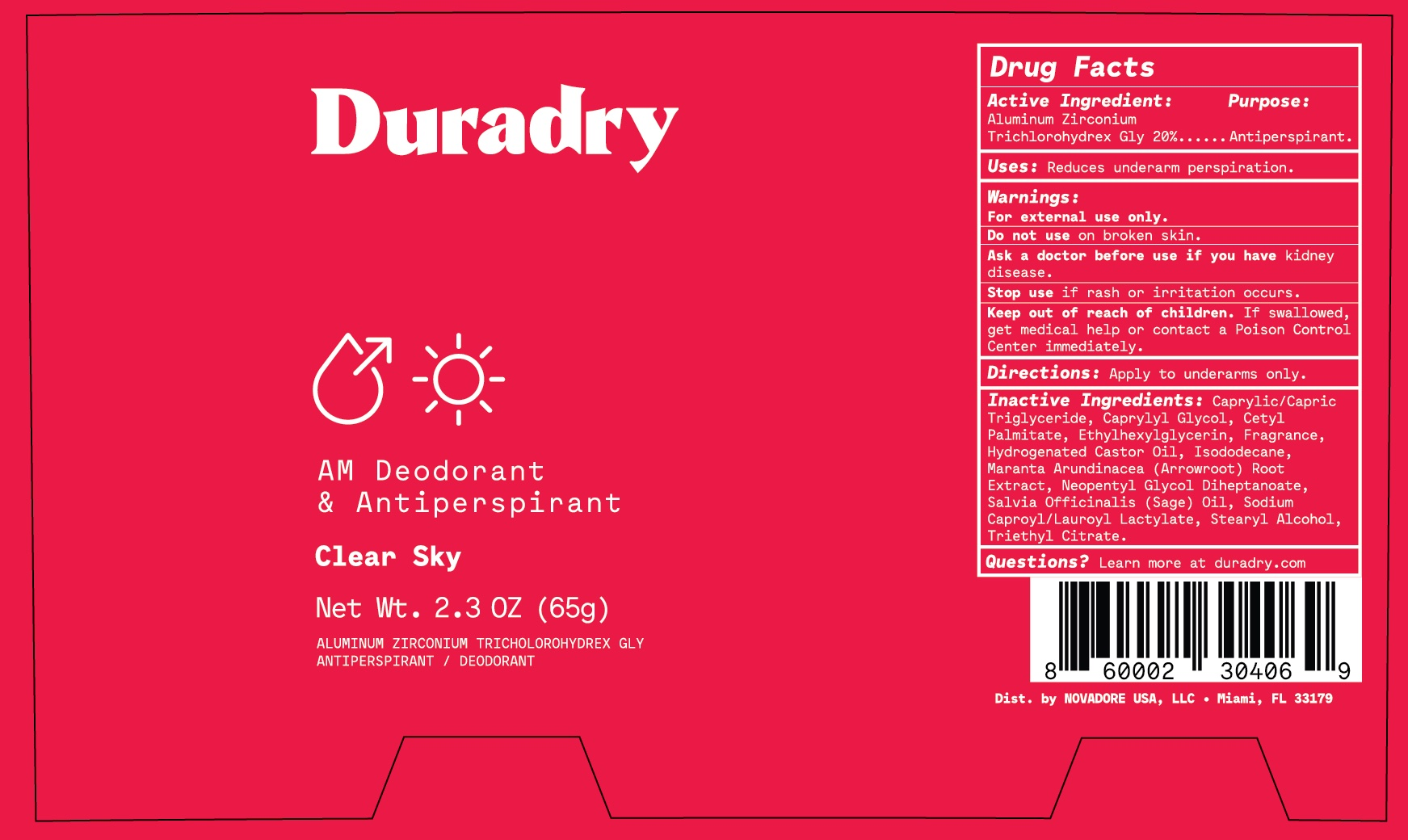 Duradry AM Clear Sky