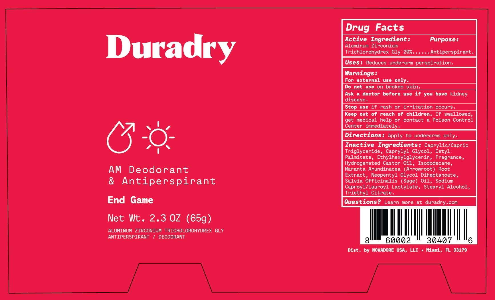 Duradry AM End Game