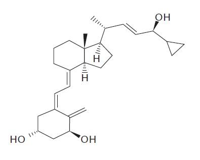 calcipotriene chemical structure