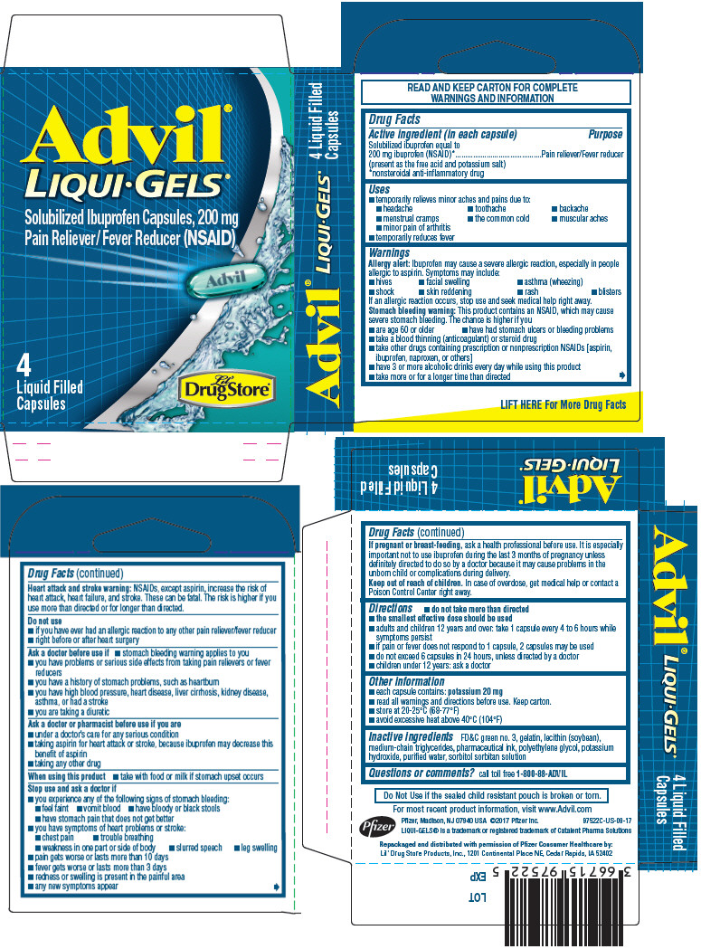 Principal Display Panel - 200 mg Capsule Pouch Carton