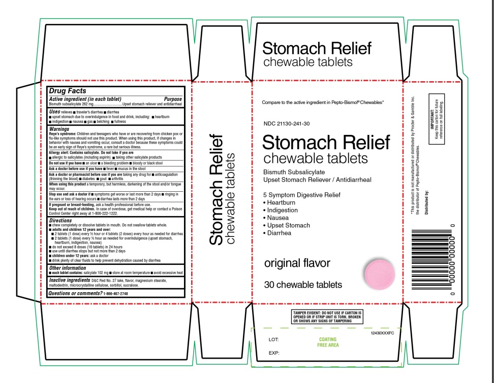Stomach Relief BISMUTH SUBSAQLICYLATE