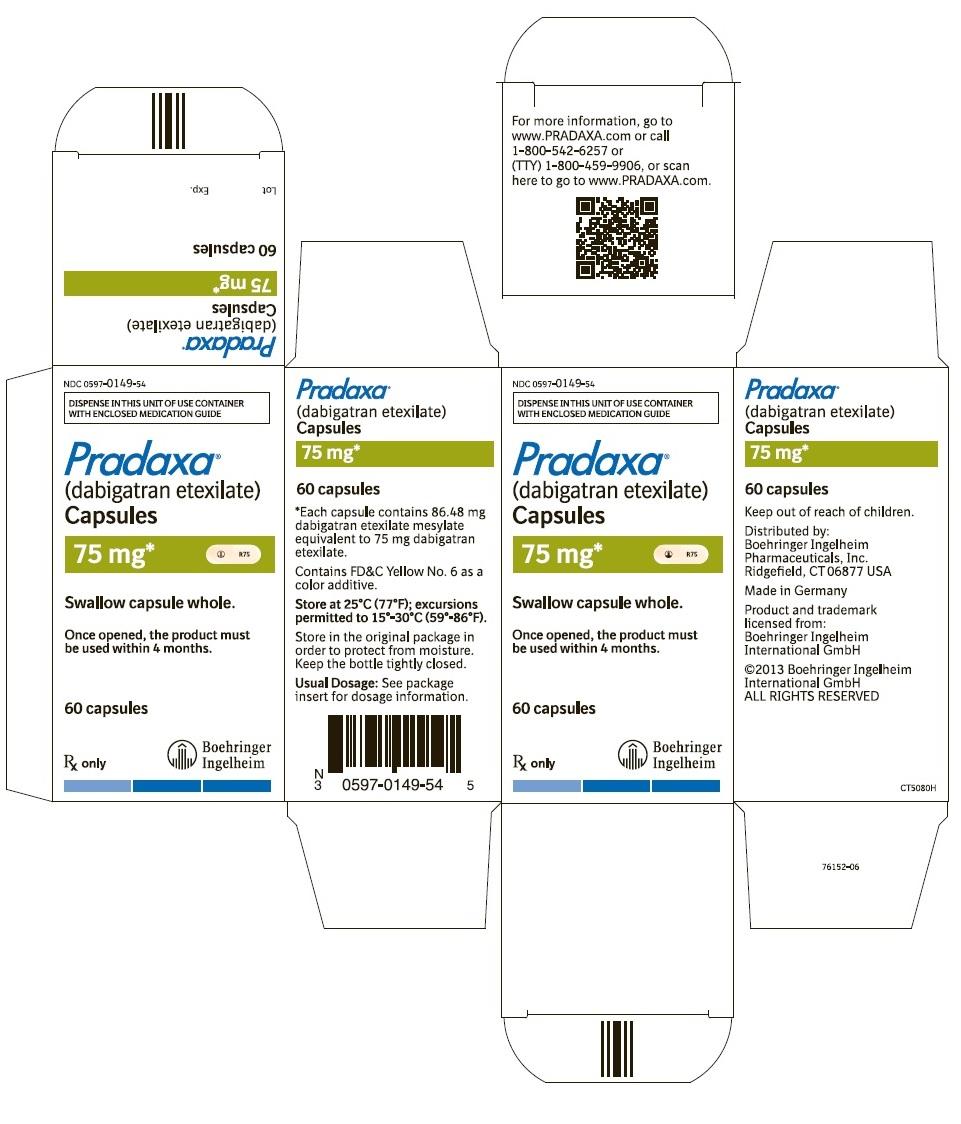 PRADAXA (dabigatran etexilate mesylate) capsules