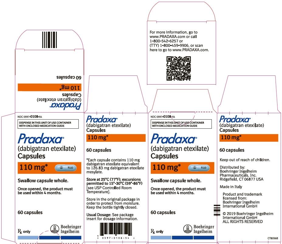 PRINCIPAL DISPLAY PANEL - 110 mg Capsule Bottle Carton