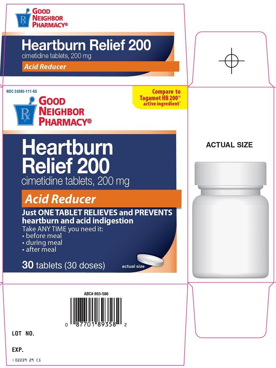 Heartburn Relief 200 Carton Image 1