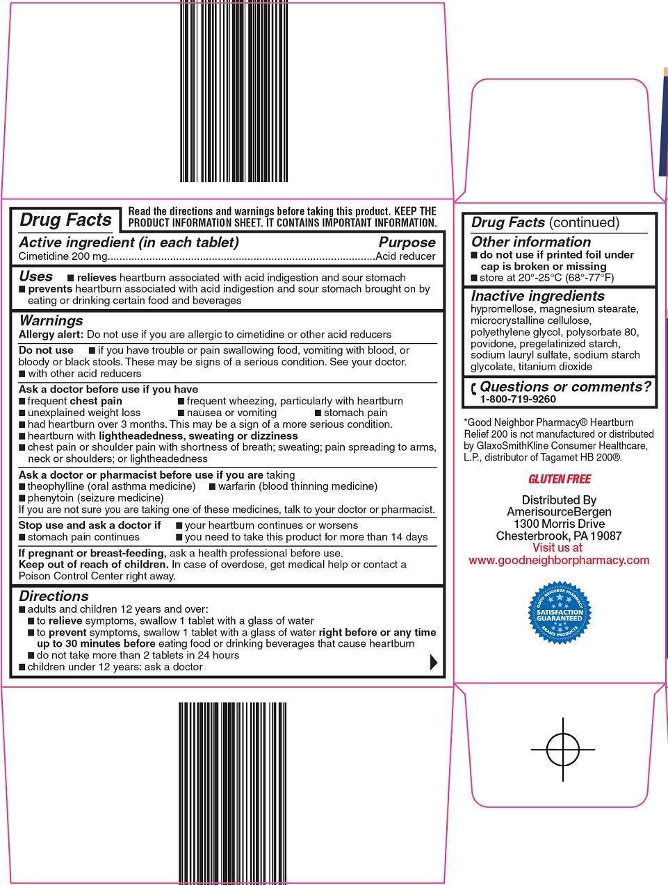 Heartburn Relief 200 Carton Image 2