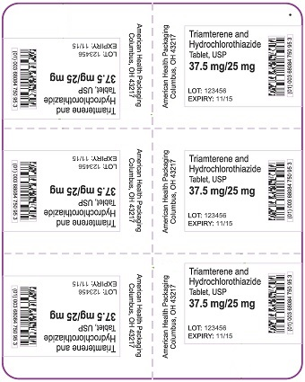 37.5 mg-25 mg Triamterene-HCTZ Tablet Blister