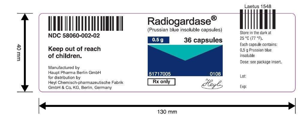 Label Radiogardase36