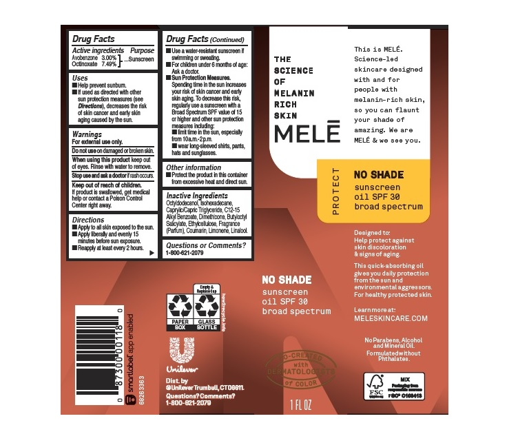 Mele SPF 30 Sunscreen Oil