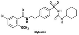 Glyburide Chemical Structure