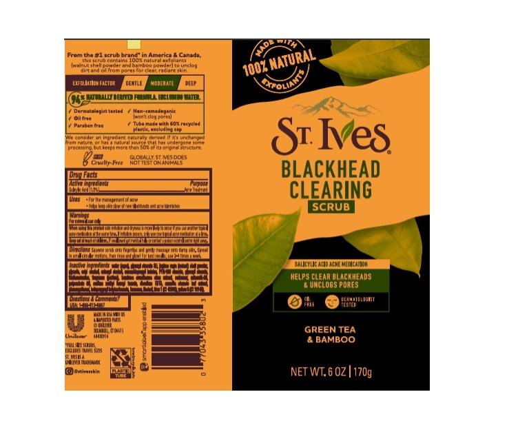 St. Ives Blackhead Scrub