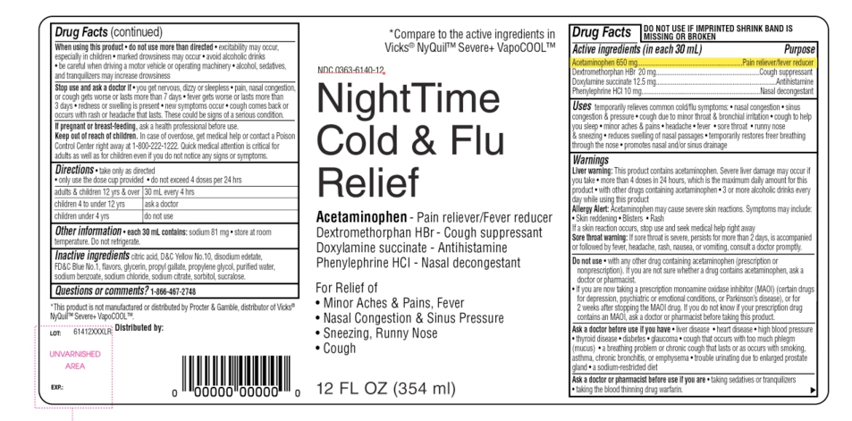 NightTime Cold & Flu Cold Relief