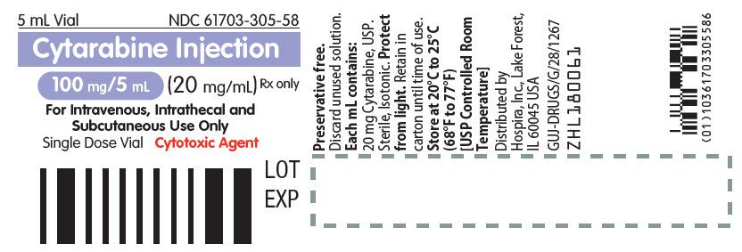 PRINCIPAL DISPLAY PANEL - 5 mL Vial Label