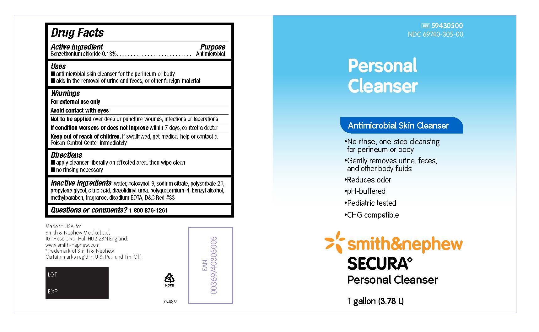 Package Display - Personal Cleanser (236 mL)