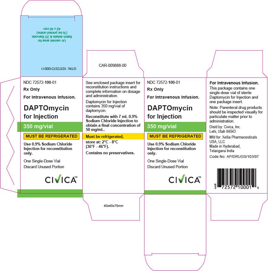 PRINCIPAL DISPLAY PANEL - 350 mg Vial Carton