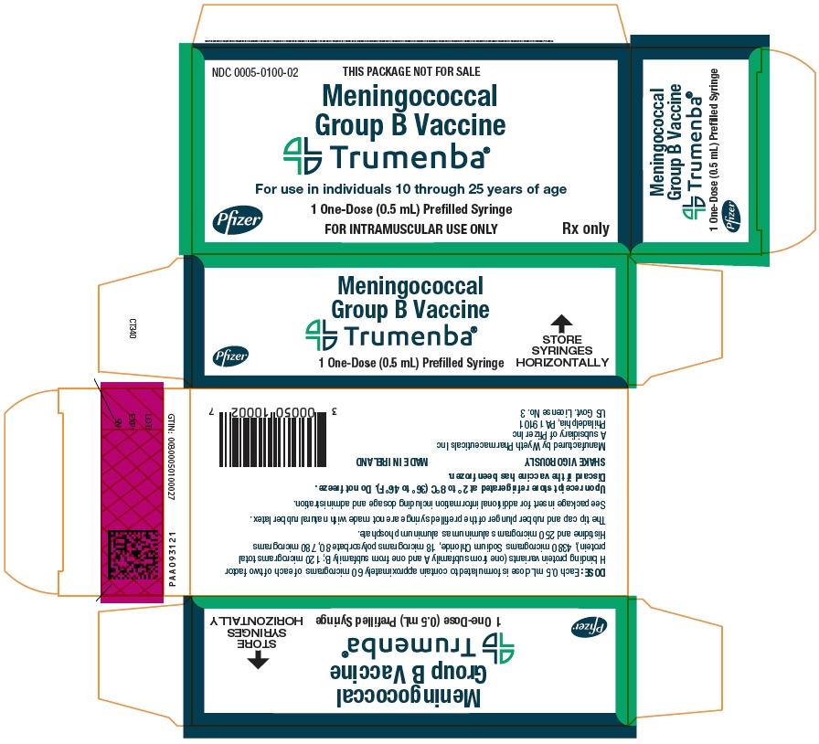 PRINCIPAL DISPLAY PANEL - 1 - 0.5 mL Syringe Carton