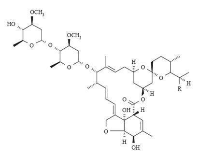 ivermectin-chem-struct