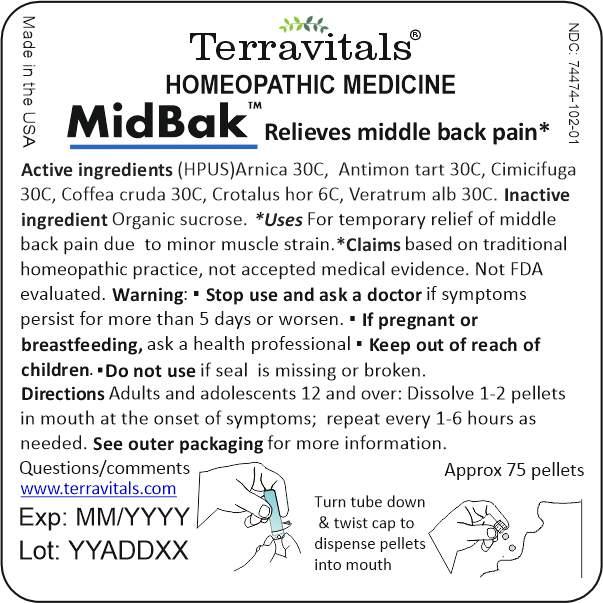 Inner package label MidBak