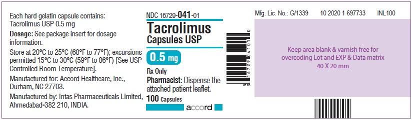 0.5 mg 100 CAPSULES