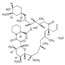 Tacrolimus Structural Formula